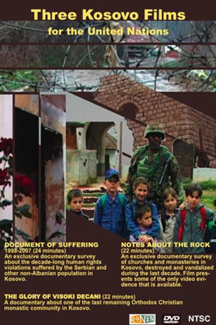 Three Kosovo Films DVD