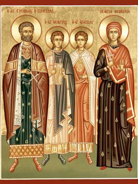 St. Eustathios and His Family