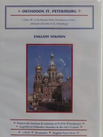 Orthodox St. Petersburg DVD