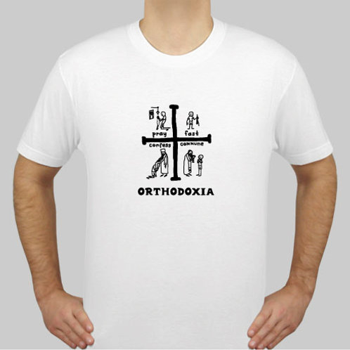 Life Is God / Orthodoxia Cross T-Shirt