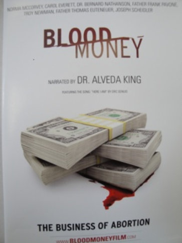 BloodMoney: The Business of Abortion DVD
