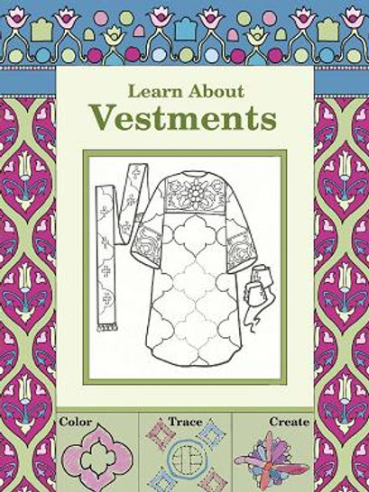 Learn About Vestments (Coloring Book)