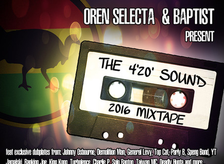 4'20' Sound 2016 Mixtape is out now