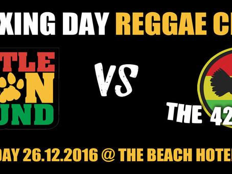 Boxing Day Reggae Clash 2016