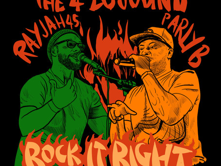New Release - Rock It Right (feat. Rayjah45 & Parly B)