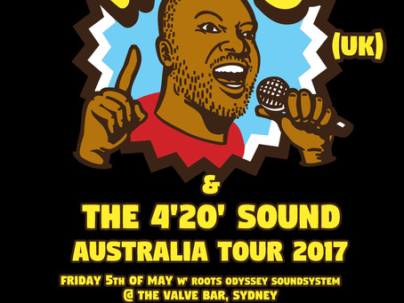 Parly B - Australia Tour May 2017