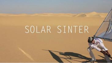 Impresora Solar 3D con arena