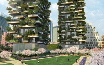 El bosque vertical en el corazón de Milán
