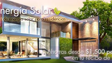 Energía Solar / Kit de energía para residencias