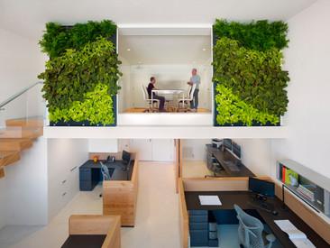 Un espacio de trabajo increíblemente sustentable.