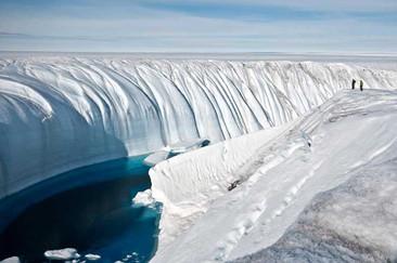 Las capas de hielo más grandes del mundo se están derritiendo