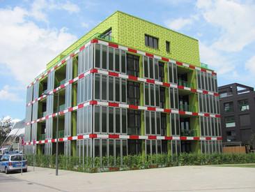 Este edificio ecológico en Hamburgo es el primero en obtener su energía de las algas