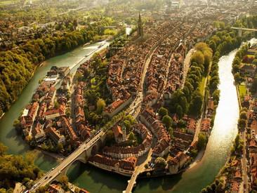 7 impresionantes fotografías aéreas de ciudades