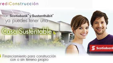 Construye con Scotiabank y Sustenthábit