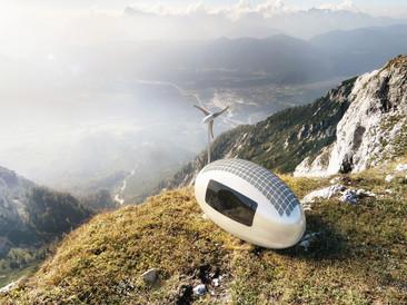 Esta pequeña cápsula ecológica te permitirá vivir incluso en el lugar más remoto del planeta