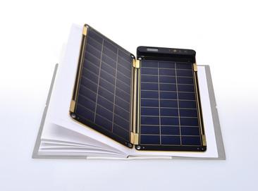 Solar Paper, Un panel solar tan delgado cómo el papel