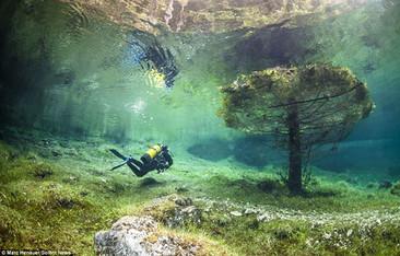 Este hermoso parque pasa la mitad del año completamente bajo el agua