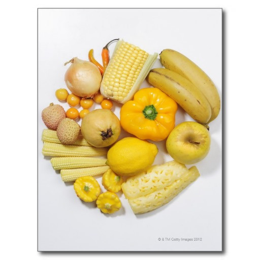 une_selection_des_fruits_et_des_legumes_jaunes_carte_postale-r624665fa2e6d440dbd