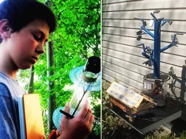 Niño científico diseña un nuevo método para captar energía solar