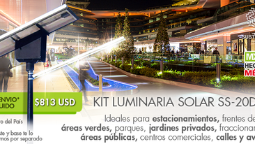Kit Luminaria Solar