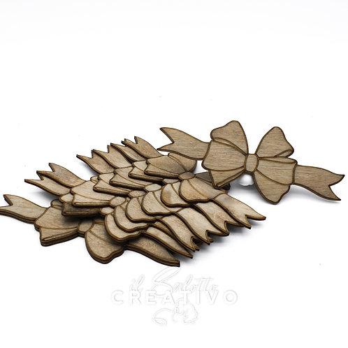 Fiocco legno orizzontale