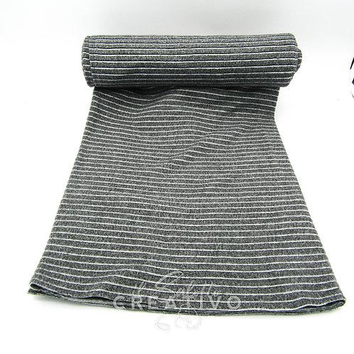 Tessuto Micro Pile righe - by Il Salotto Creativo