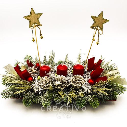 Centrotavola natalizio 30 cm