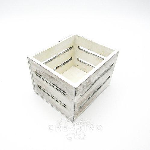 Cassetta quadrata legno cm 10x12