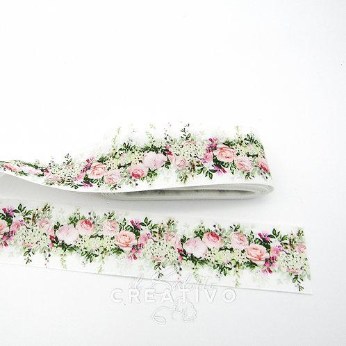 Nastro raso Flower alt. 3 cm - by Il Salotto Creativo
