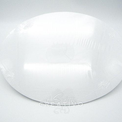 Cartone telato per pittura ovale cm 30x40