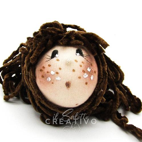 Testina Doll 1 - by Il Salotto Creativo