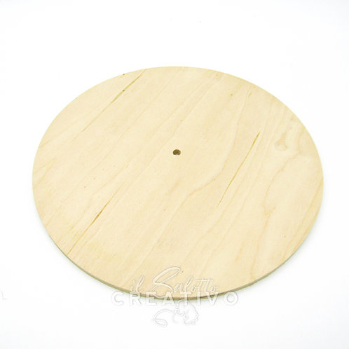 Base legno rotonda diam. cm 30