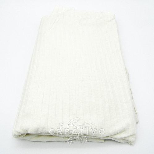 Tessuto Cotone Elasticizzato Costina - by Il Salotto Creativo