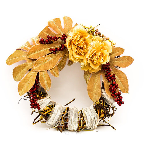 Ghirlanda Bacche Elegant 30 cm