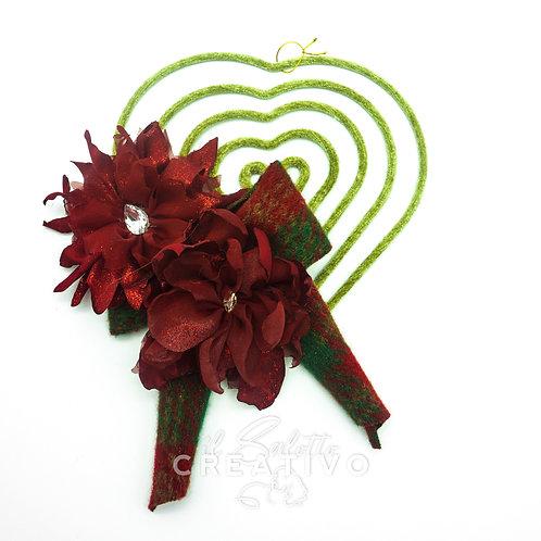 Girigogolo Cuore M con fiori Stelle
