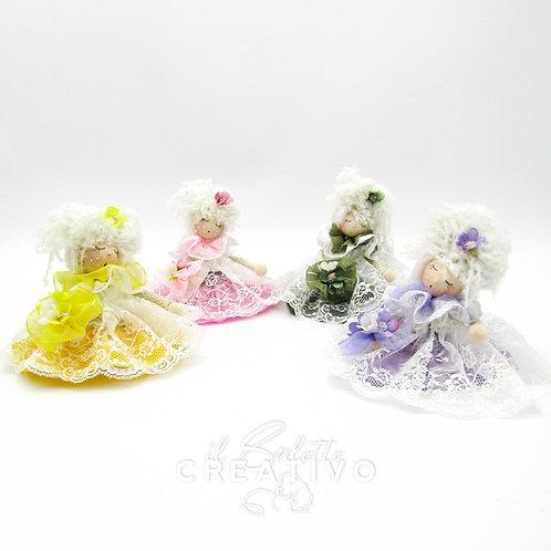 """Kit  """"Bamboline Romantiche"""" - by Il Salotto Creativo"""