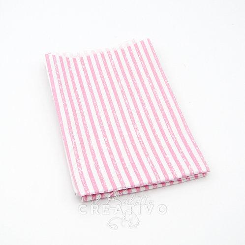 Tessuto 100% Twill di cotone con stampa quadretti