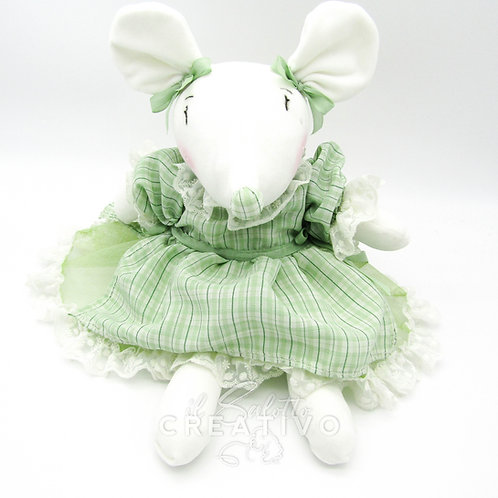 """Kit Bambola """"The Little Mouse Francy"""" - by Il Salotto Creativo"""