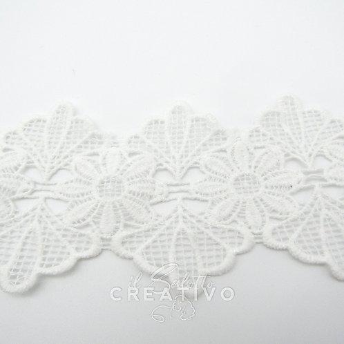 Pizzo Macramè Fiore alt 7 cm - by Il Salotto Creativo