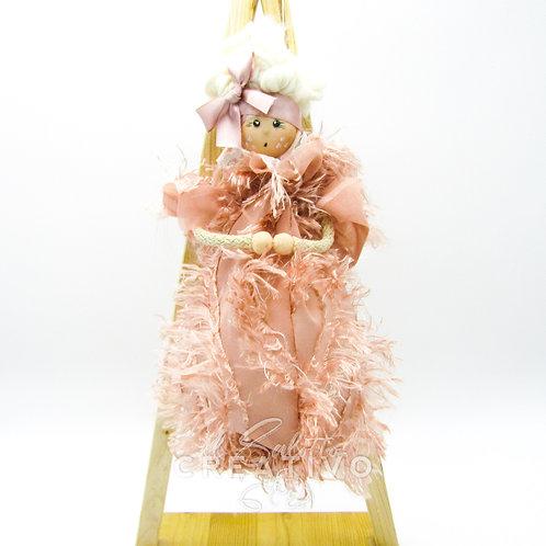 "Kit bambola ""La Damina"" - by Il Salotto Creativo"