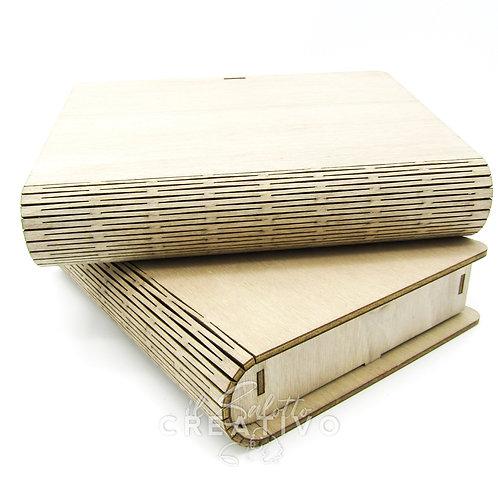 Book legno M Schedamore - by I Nastri di Mirta