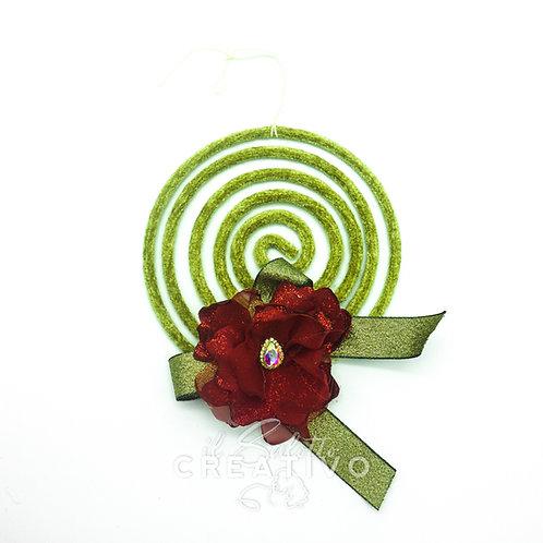 Girigogolo cerchio S con fiore Stella - I Nastri di Mirta