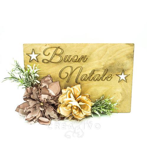 """Fuori Porta Tag """" Buon Natale"""" - by I Nastri di Mirta"""