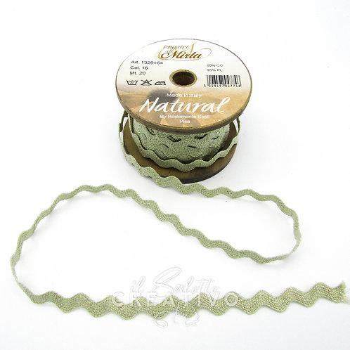Nastro Serpentina Madreperla cotone alt. 2 cm - by I Nastri di Mirta
