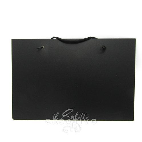 Lavagna nera bifacciale cm 20X30