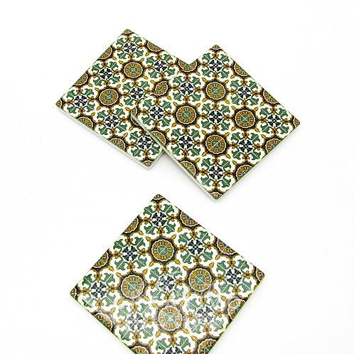 Mattonella in Ceramica Decorata cm 10X10 - by Il Salotto Creativo