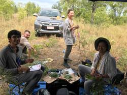 Fieldwork in the Northern Territory, Australia