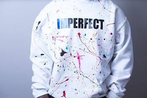 "IMPERFECT Hooded ""Splash"" Sweatshirt"