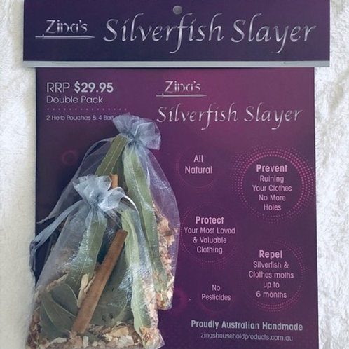 Zina's Silverfish Slayer - Double Pack