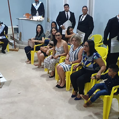 Sagração do Templo Cyrillo Carvalho Neve